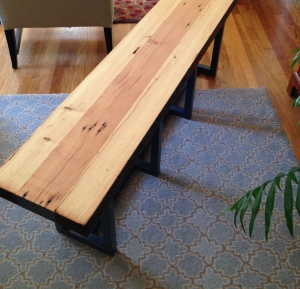 reclaimedWoodBench